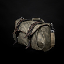 [WOTANCRAFT] TROOPER INTERIOR MODULE SHOULDER BAG - Ash green - L