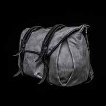 [WOTANCRAFT] TROOPER INTERIOR MODULE SHOULDER BAG - Vintage grey - XL